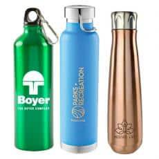 Aluminum & Steel Bottles